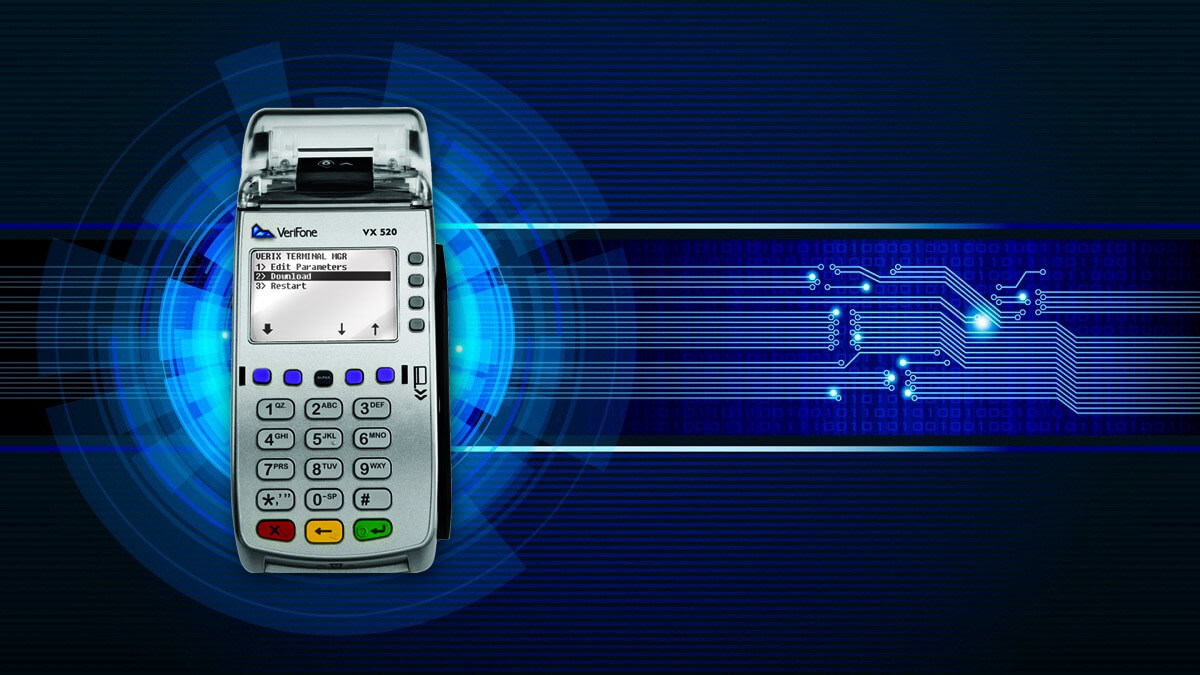 How to reboot payment terminal Verifone