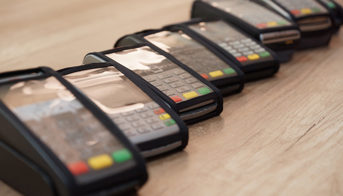 Cases for payment terminals