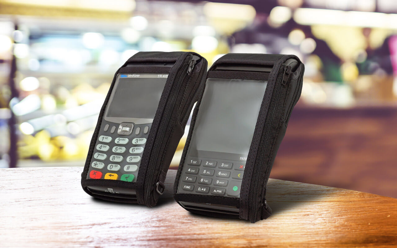 New generation of carrying cases for VeriFone Vx675 and PAX S920