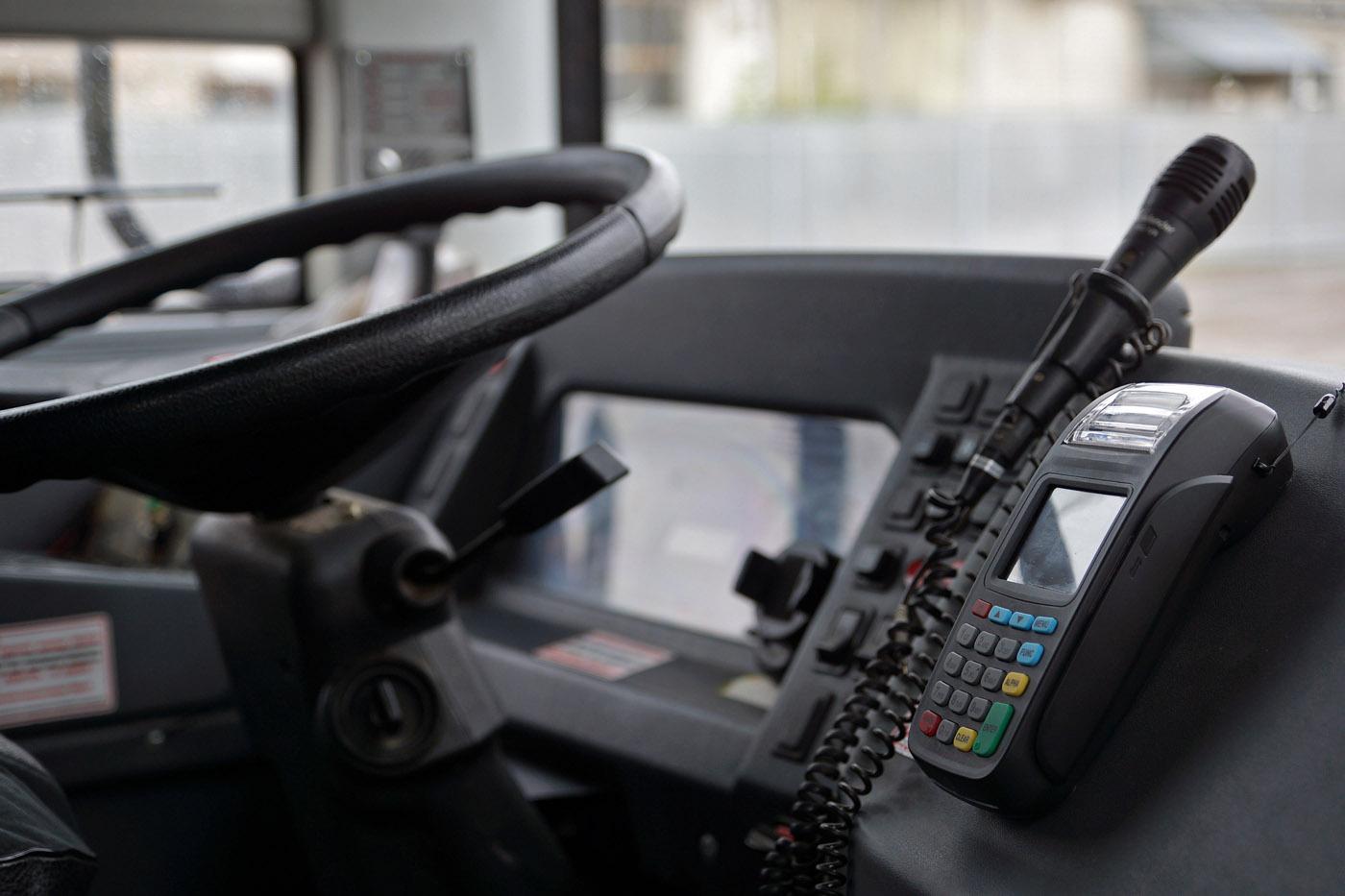 Accept non-cash payments on Kamensk-Uralsky public transport
